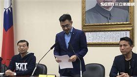 國民黨立委江啟臣當選國民黨主席補選。(圖/記者林恩如攝影)
