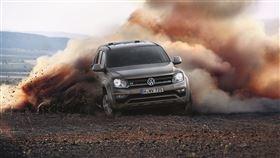 ▲Amarok V6獲得年度皮卡風雲車。(圖/翻攝Volkswagen提供)