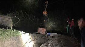 高壓電塔,工安意外,鐵桶,新竹