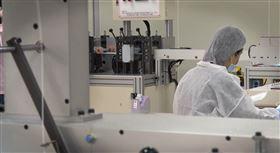 康匠工廠,口罩製造(圖/記者蔡杰和攝影)