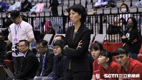 HBL南山高中教練李陸臻。(圖/記者劉家維攝影)