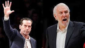 NBA/重建有功仍再見 波總幫說話 NBA,布魯克林籃網,Kenny Atkinson,聖安東尼奧馬刺,Gregg Popovich 翻攝自推特