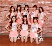 統一獅隊專屬啦啦隊「Uni-girls」新成員。(記者邱榮吉/攝影)