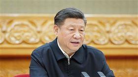 習近平,認中國最嚴峻公衛危機(圖/翻攝自新華網)