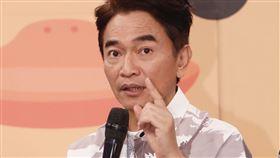吳宗憲、lulu今日錄製《綜藝大熱門》。(圖/記者林聖凱攝影)