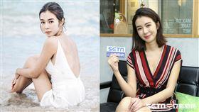 被稱為「十優港姐」的香港女星麥明詩。
