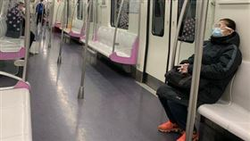 北京 地鐵(圖/翻攝自微博)