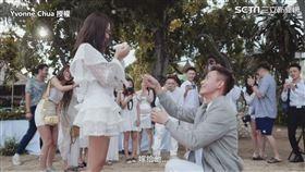 ▲最後再向Yvonne求婚。(圖/Yvonne Chua 授權)