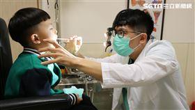 亞洲大學附屬醫院,耳鼻喉部,許哲綸,小兒阻塞型睡眠呼吸中止症,尿床,打呼,打鼾 圖/亞大醫院提供