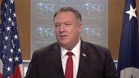 美國國務卿蓬佩奧,翻攝自美國國務院