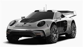 ▲保時捷911改造的Avalanche 4×4越野車。(圖/翻攝Gemballa網站)
