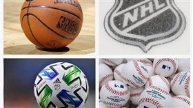 ▲北美四大運動NBA、NHL、MLS、MLB全都因為武漢肺炎暫停。(圖/翻攝自ESPN IG)