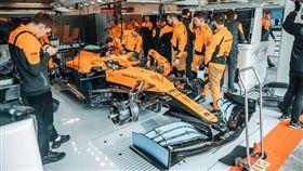 ▲F1 McLaren車隊(圖/翻攝自McLaren官網)