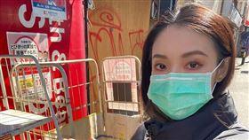 旅日女星歐陽靖在臉書發文表示,日本的民眾最近真的開始恐慌了。(圖/翻攝自歐陽靖臉書)