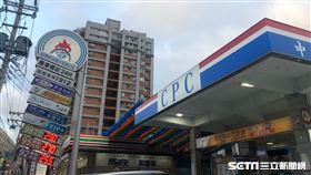 加油站(記者陳弋攝影)