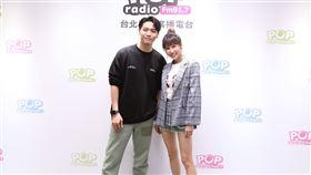 潘嘉麗、蔡閔佑。(POP Radio提供)