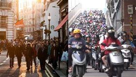歐洲人,戴口罩,台灣人,遵守交通,難度