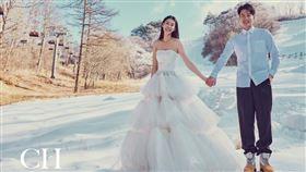 趙孟姿、許孟哲/翻攝自C.H wedding 婚紗臉書