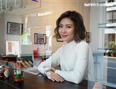 傅健穎接受三立新聞網專訪。(記者邱榮吉/攝影)