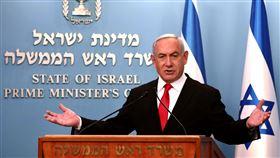 以色列總理納坦雅胡(Benjamin Netanyahu)。(圖/美聯社/達志影像)