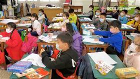 桃園市長鄭文燦學校視察午餐防疫 顧好每一位孩童身體健康