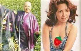 恆述法師」費貞綾曾是一代豔星,被封東方維納斯(圖/豆瓣、臉書)
