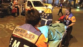 台南,火警,民宅,嗆傷,燒燙傷(圖/翻攝畫面)