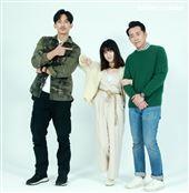 LINE TV「黑喵知情」演員王家梁、連俞涵、施名帥。(記者邱榮吉/攝影)