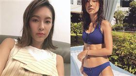 金鐘美女主持陳瑋薇擁甜美火辣外型。(圖/翻攝自陳瑋薇臉書粉專)