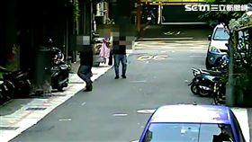 陳姓槍手對北市大橋頭幫劉姓角頭連開2槍遭逮。(圖/翻攝畫面)