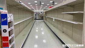 ▲加州頒佈留守室內命令,矽谷超市被掃空。(圖/讀者提供)