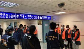 警張!台灣嫌犯在三級疫區詐騙遭逮 回台直接進監所隔離(圖/翻攝畫面)