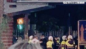 ▲台北市北投區文化三路亦發生當街擄人案。(圖/翻攝畫面)
