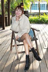 林萱瑜接受三立新聞網專訪。(記者邱榮吉/攝影)