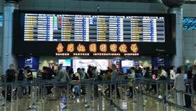 出國,機場,旅遊,武漢肺炎(圖/記者陳弋攝影)