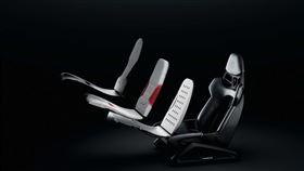▲保時捷3D列印客製化賽車座椅。(圖/翻攝Porsche網站)
