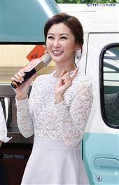 陳珮騏出席新戲《姊妹們 追吧》記者會(記者林聖凱攝影)