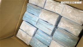 囤積口罩,大安,台北,水煙店 大安分局提供
