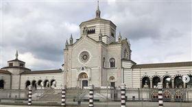▲義大利一座公墓。(圖/翻攝自IG)