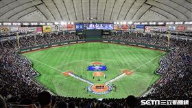東京巨蛋12強冠軍賽賽前。(資料圖/記者王怡翔攝影)