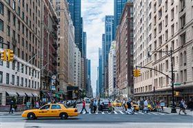 美國,紐約,曼哈頓,大都市,街道(圖/翻攝自Pixabay)