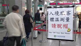 武漢肺炎,機場,入境,健康申報表,體溫