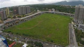 淡海新市鎮輕軌捷運淡水行政中心站,周邊土地整體開發規劃將帶動新市鎮加速發展(圖/營建署)