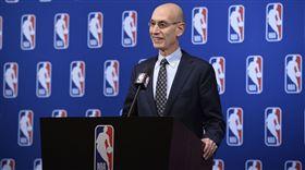 籃網4球員確診 NBA主席:不意外 武漢肺炎,布魯克林籃網,Kevin Durant,Adam Silver 翻攝自推特