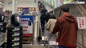 好市多,衛生紙,搶購,武漢肺炎 圖/廖俐惠攝影