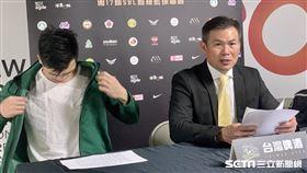 台啤總教練周俊三。(圖/記者劉家維攝影)