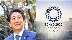 安倍晉三,東京奧運。(圖/翻攝畫面)