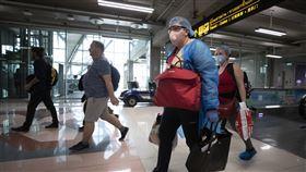泰國新曼谷國際機場。(圖/美聯社/達志影像)