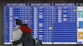 美國,機場,華盛頓杜勒斯國際機場(Washington Dulles International Airport)。(圖/美聯社/達志影像)