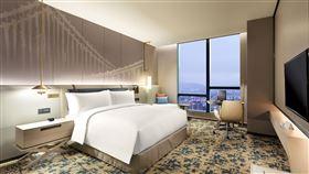 台北新板希爾頓酒店。(圖/業者提供)